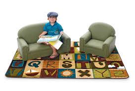 brand new world toddler enviro child upholstery sofa u0026 chair set