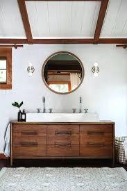 Mid Century Modern Bathroom Vanity New Mid Century Modern Bathroom Vanity And Inspiring Bathroom Mid