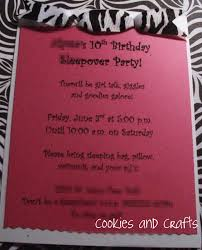 sleepover party invites informal slumber party invitation cards features party dress