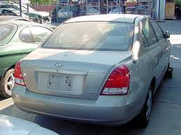 hyundai elantra 2002 model 2002 hyundai elantra used parts stock 003005