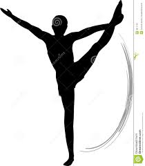 gymnastics clipart silhouette vault clipart panda free clipart