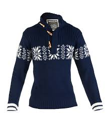 snowflake sweater decibel snowflake sweater with toggle navy mksteel jimmy jazz