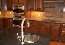 Ideas For Care Of Granite Countertops Gorgeous Kitchen Backsplash Tile Patterns Ideas Black