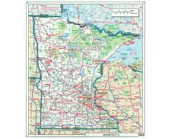 Map Of National Parks In Usa Maps Of Minnesota State Collection Of Detailed Maps Of Minnesota