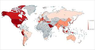 World Map Countries The Most Empathetic Countries In The World Have Just Been Ranked