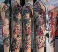 50 cool sleeve tattoo designs