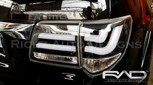 lexus mirip harrier richz auto designs headlamp stoplamp led