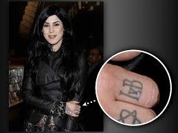 the stories behind kat von d u0027s tattoos