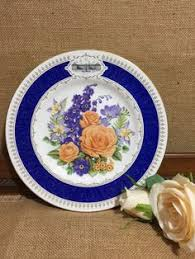 royal worcester palmyra porcelain plate circa 1970 china plate