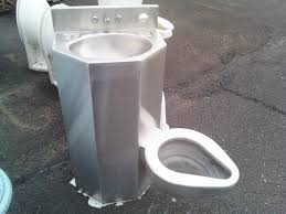 toilet and sink backed up frugal freedom the toilet sink a must have for the modern home