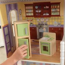 How To Make Dollhouse Furniture Out Of Household Items Kidkraft Savannah Dollhouse With 13 Accessories Included Walmart Com