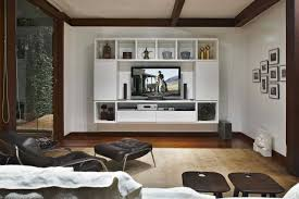 Living Room Furniture For Tv Flat Screen Tv Wall Cabinets Offering Space Saving Furniture Ideas