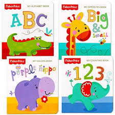 baby books fisher price my books set of 4 baby toddler