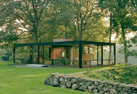 bus trip to the philip johnson glass house in new canaan ct june