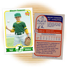 retro 75 series is the primary custom baseball card design within