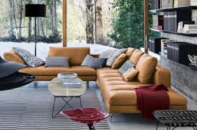 Cognac Leather Sofa by Looking For A Long Sectional Or Sofa In A Tan Cognac Camel Leather