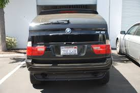 Bmw X5 Lifted - bmw e53 x5 rear automatic trunk hatch auto lift gate springs mod