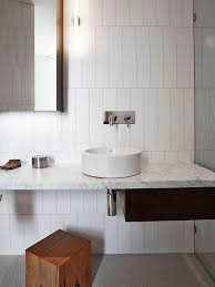 Installing Ceramic Wall Tile Rectangular White Ceramic Bathroom Tile Staggered Vertical