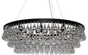 Clarissa Glass Drop Chandelier Glass Crystal Chandelier Ideas For Home Decoration