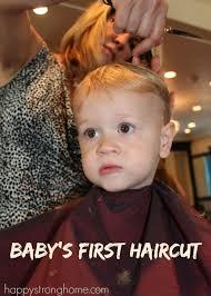 caption for big haircut his first haircut