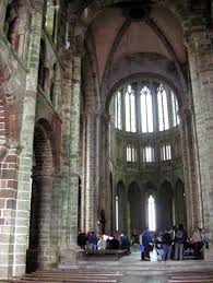 Mont Saint Michel Interior File France Mont Saint Michel Church A Jpg Wikimedia Commons