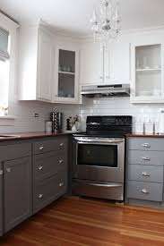 two tone cabinets in kitchen two tone color kitchen cabinets home design ideas
