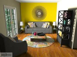 Yellow Living Room Chair Living Room Yellow Accent Walls Accents Grey And Living Room