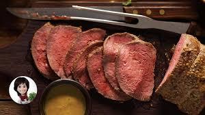 cuisiner roti de boeuf rôti de bœuf au jus de josée di stasio recettes iga