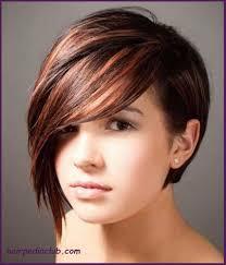 asymmetric bob short haircuts for fine hair and round faces