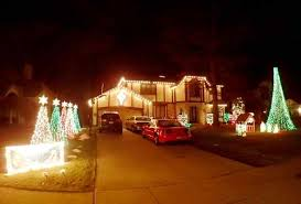 mr christmas lights and sounds fm transmitter mentor family s home named best area lighting display by news herald