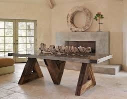 table dining room triangle table with concrete top eclectic dining room san
