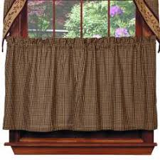 tier curtains country style curtains