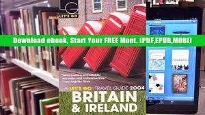 read online let s go 2004 britain ireland let s go great
