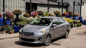 mitsubishi mirage hatchback modified 2017 mitsubishi mirage g4 sedan automatic youtube