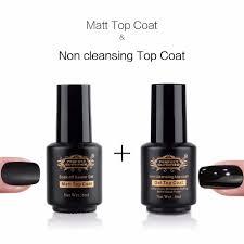 wholesale perfect summer led uv nail gel polish matt matte top