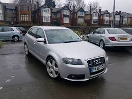 2007 audi a3 2 0 tdi manual s line 5 door sportback silver alloy