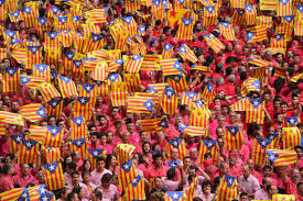 The Flag In Spanish Catalan Separatists Defy Spain In Pursuit Of U0027utopia U0027 U2013 Politico