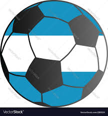 Argentina Flag Photo Flag Of Argentina And Soccer Ball Royalty Free Vector Image