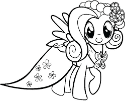 Fluttershy Coloring Pages Free Printable Coloring Pages My Little My Pony Coloring Pages Fluttershy Equestria Free