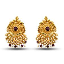 gold plated earrings designer gold plated earrings view specifications details of