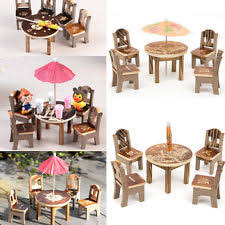Dollhouse Dining Room Furniture Dollhouse Dining Sets Ebay