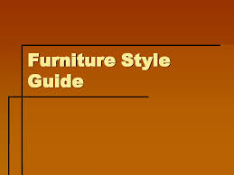 furniture styles guide searchotels info