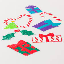 Christmas Window Cling Decorations by Happy Christmas Window Clings Ilovetocreate