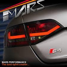 audi a4 b8 sedan smoked 3d led bar lights replace stock
