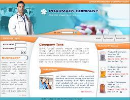 pharmacy brochure template free boxedart member downloads website templates health