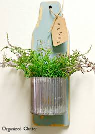 herb wall organized clutter easy easter or year round wall decor from
