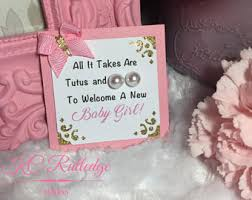 baby girl shower ideas pink and gold pearl earring baby shower favors girl baby