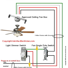 cool wiring diagrams for a ceiling fan and light kit u2013 do it