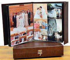 magnetic photo album magnetic leather album jan bryan and marianne s wedding