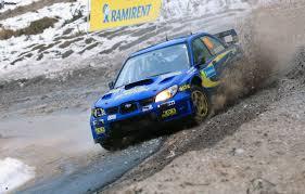 subaru rally snow subaru impreza